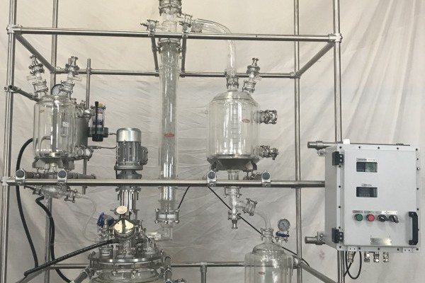 Batch Vacuum Distillation Unit
