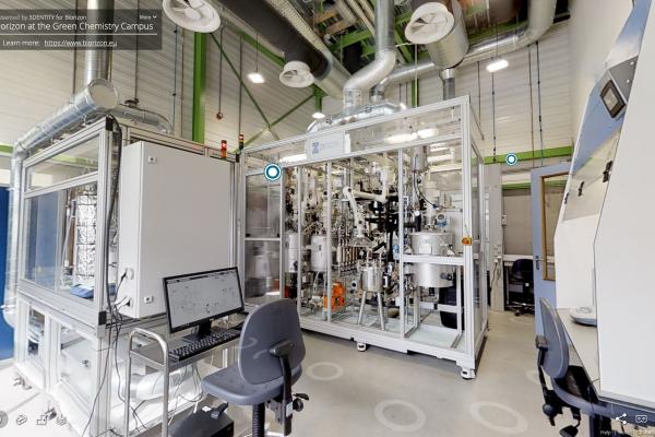 Biorizon Presents Virtual Reality Model of its Biomass to Bio-aromatics Lab at the Green Chemistry Campus