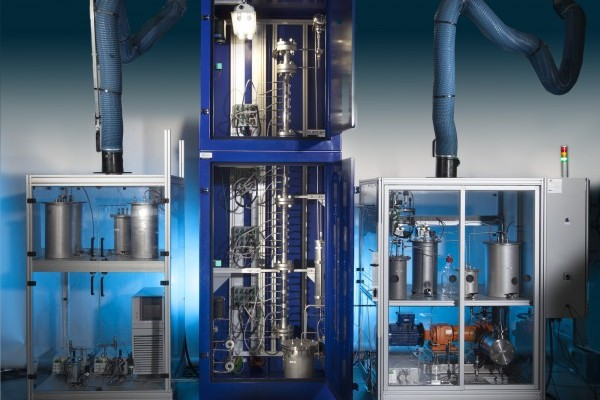 Continuous Biphasic Reactor Skid